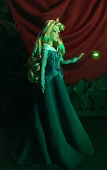 Rose! Don't Touch ANYTHING!! (MaxxieJames) Tags: sleeping beauty aurora maleficent disney doll dolls collector collection le limited edition villains villain princess fairytale store briar rose