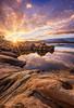 Warm Sunset on a Cold Day (TreeRose Photography) Tags: prescott arizona landscape rocks reflections water lake granitedells granitemountain sunset starburst tree textures layers depthoffield