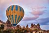 Turki (sandilesmana28) Tags: turki sunrise air capadoccia kapadokya balloon cloud pink yellow blue green tree
