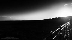 Promenade Parade (...She) Tags: promenadeparade sheenaduckworthphotography grangeoversands lancashire england blackandwhite bw promenade landscape scenery scenic shadowsandlight lightandshadows darknessandlight mood atmosphere glimmer