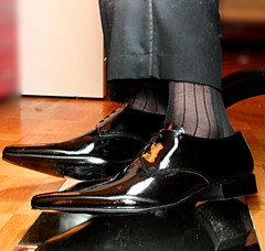newpatents22_3320121717_o (shinydressshoes) Tags: dress shoes dressshoes shiny shinyshoes patent leather formal oxfords pointed balmorals sheer sheers socks sox lackschuh anzug suit tux tuxedo shoeporn lackschuhe laceup