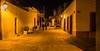 2016 - Mexico - Querétaro - Night Walkers (Ted's photos - For Me & You) Tags: 2016 cropped mexico queretaro santiagodequeretaro tedmcgrath tedsphotos tedsphotosmexico vignetting nikon nikonfx nikond750 streetscene street people peopleandpaths nightscene nightlighting streetlight streetlamp