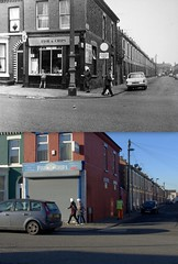 Elwy Street, Toxteth, 1969 and 2017 (Keithjones84) Tags: liverpool merseyside toxteth dingle oldliverpool rephotography history localhistory thenandnow beatles ringostarr ringo