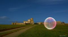 Trévignon (29) (Ronan Bzh) Tags: bretagne breizh ball lightpainting light painting lightjunkies orb orbs sphere trevignon chateau nikon d7100 tamron 1750mm night photography long exposure landscape nightscape