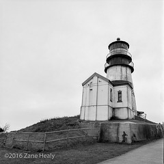 Cape Disappointment Lighthouse (Zane's Photography) Tags: capedisappointment hasselblad500cm kodaktmax400 lighthouse tmaxdeveloper washington
