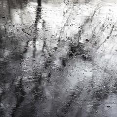 Prise de vue (Gerard Hermand) Tags: 1701216213 gerardhermand france paris canon eos5dmarkii formatcarré parcdesaintcloud parc park eau water glace ice réflexion reflection arbre tree hiver winter abstrait abstract abstraction