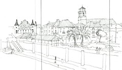 Donibane Lohitzune. Euskalherria. 54 sketchcrawl