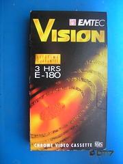 EMTEC - Blank Tape (daleteague17) Tags: blank vhs tapes blankvhstapes pal palvhs videotape blankvideotape emtec