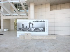 Museum, Josef Koudelka at The Getty Center, Mural