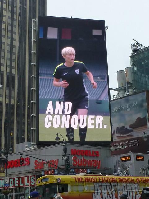 sport women soccer nike billboards league uswnt meganrapinoe