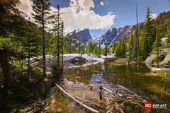 Dream Lake and Hallett Peak