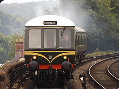 Diesel Train at Bewdley, Worcestershire, 13 June 2015 (AndrewDixon2812) Tags: bridge forest train diesel engine rail railway severn viaduct railcar valley british locomotive worcestershire wyre kidderminster bewdley class108