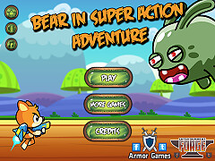 火箭熊的超級冒險(Bear in Super Action Adventure)