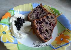 cupcake with blackcurrants - Кекс на кефире с черной смородиной (photorecipes) Tags: cupcake blackcurrant черная смородина простой кекс