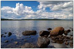 Sommerdag ved Femunden (Krogen) Tags: summer norway landscape norge sommer norwegen krogen landskap hedmark femunden engerdal olympuse400