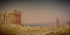 Sanford Gifford - Ruins of the Parthenon, 1880 at National Gallery of Art Washington DC (mbell1975) Tags: usa art english museum america painting washingtondc smithsonian us dc washington districtofcolumbia ruins gallery museu unitedstates fine arts muse musee institute wdc parthenon national british museo muzeum nga sanford 1880 gifford finearts beaux beauxarts mze gallerie musum