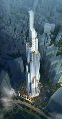 Проект башни Landmark Tower от Atkins во Вьетнаме