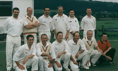 "Steeton 1st XI 2001 (2) • <a style=""font-size:0.8em;"" href=""http://www.flickr.com/photos/47246869@N03/19783012905/"" target=""_blank"">View on Flickr</a>"