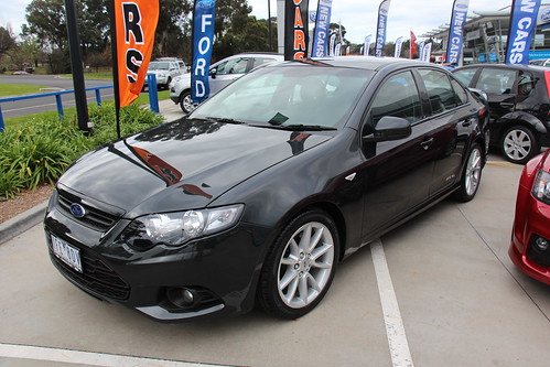 2012 Ford Falcon FG II XR6 Sedan