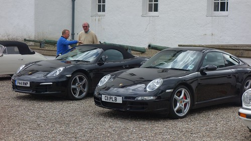 Robin's car alongside Paul's