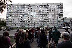 Procession (Paolo Polesana) Tags: urban ukraine soviet kharkov