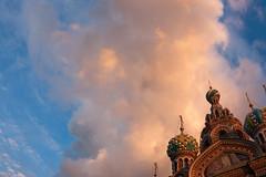 Skies of Saint Petersburg (monorail_kz) Tags: church museum cathedral russia saintpetersburg orthodox neva whitenights griboyedov savioronthespilledblood samyang2814mm