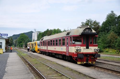 CD 854 001 + 814 161, Železný Brod, 29-08-2016