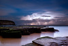 Storm over sea (-yury-) Tags: storm lightning sea ocean beach night thunderstorm sydney nsw australia turimetta