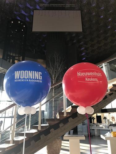 Cloudbuster Rond bedrukt Nieuwenhuis Keukens en Woooning Evoluon Eindhoven