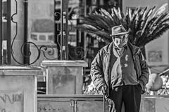 Al sol del mediodía (Ignacio M. Jiménez) Tags: gente people bw bn byn ubeda jaen andalucia andalusia españa spain proyecto200desconocidos ignaciomjiménez