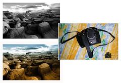 Bisti N.M_817 copie (C&C52) Tags: paysage landscape extérieur nature désert rochers appareilphotoargentique leica vintage collector triptyque