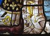 ca. 1500-1510 - 'donor of the de Bernemicourt family' (Hendrik and maybe Jan van Diependale), Charterhouse, Leuven, Brabant, V&A, London, England (Roel Renmans) Tags: 1500 1509 1510 donor mary magdalen magdalena maria knight de bernemicourt bernicourt pinnock pynnock absoloens family stained glass vitrail glasraam glas lood vitral glasgemälde fenster vetrata leuven louvain kartuizerij kartuizerklooster charterhouse lovaina chartreuse blason victoria albert museum london ter bank cloister jan hendrik van diependale glazier armor armour rüstung armadura armure armet visor hybrid sallet rondel crest sable semé fleur lis lys or gold surcoat surcotte wappenrock wapenrok skirt mail gauntlet löwen tobias capwell