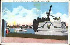 Sailor's Monument (Hear and Their) Tags: bob lo boblo island