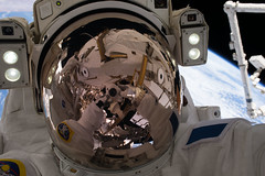 iss050e032086 (NASA Johnson) Tags: spacewalk eva spacesuit space earth emu shane kimbrough thomas pesquet batteries