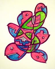 Doodle 41 (darksaga66) Tags: doodle penandink inkart myart drawing