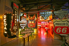 American Sign Museum (lukedrich_photography) Tags: ohio eastern buckeyestate buckeye us usa birthplaceofaviation unitedstates unitedstatesofamerica america الولاياتالمتحدة vereinigtestaaten アメリカ合衆国 美国 미국 estadosunidos étatsunis northamerica cincinnati سينسناتي 辛辛那提 सिनसिनाटी シンシナティ 신시내티 цинциннати americansignmuseum american sign museum nationalsignsofthetimesmuseum history culture canon t6i indoor inside signs display letter letters light neon bulb regal curlee gulf gasoline clothes kraft beebe co company luncheonette dolly madison ice cream phillips 66 oil kelly springfield tires bostonians shoe men holybible drugs restaurant