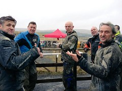 Carl Fogarty and pals at Ride & Skid It !