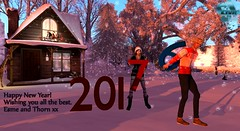 Happy New Year 2017 (Esme Capelo) Tags: secondlife slliveradio sl happy new year 2017 esme capelo thorn andel