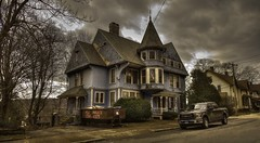 Return to Splendor (Jon Scherff) Tags: queenannevictorian shinglevictorian victorianhouse victorian mansion nikond810 nikon1424mmf28afs wideangle