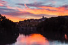 Rio Pisuerga (cvielba) Tags: puente tordesillas valladolid atardecer reflejos romano