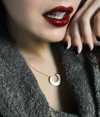 She.......... (Nana ;-))) Tags: marta retrato portrait closeup labios lips nails boca mouht uñas ritratto woman she