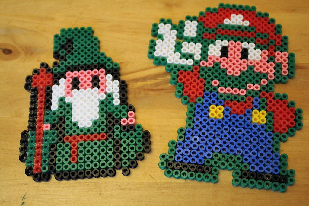17 Best Images About Super Mario Hama Perlen On Interiorhalloween Co