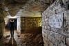 Pompe du cloître des Chartreux (flallier) Tags: paris souterrain carrières souterraines calcaire underground limestone quarry backlighting consolidations igc pompe cloître chartreux catacombes catacombs