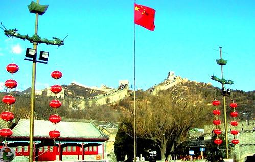 Great Wall at Bada Ling - China 2003 - Chinesische Mauer bei Bada Ling