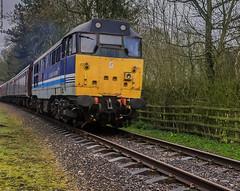 No.31270 Athena (Paul GF3) Tags: england preservedrailway peakrail preservation diesel derbyshire darleydale matlock midlandrailway outdoors railway railroad railwaystation station train athena no31270