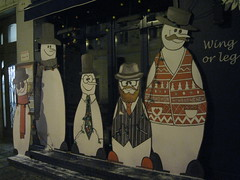 who are they? (VERUSHKA4) Tags: find wing leg title words funny canon russia europe moscow city cityscape man bird vue rue view ville clothes hat snowman decoration art street outdoor hccity winter showcase january door scarf astounding image cute
