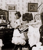 Tighten Up (~ Lone Wadi ~) Tags: corset ladies indoors fashion style candid retro 1890s 19thcentury victorian unknown prostitutes prostitution