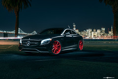 mercedes-benz-s63-amg-coupe-m652-candy-apple-red-wheels-agwheels-7 (AvantGardeWheels) Tags: s63 amg coupe candy apple red 22inch m652 mercedes benz euro fitment lowered offset ag agwheels avant garde wheels agform agfunction