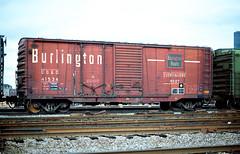 CB&Q Class XM-2 41534 (Chuck Zeiler) Tags: cbq class xm2 41534 burlington railroad freight box car ar train chz chicago chuck zeiler boxcar