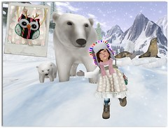 Mother Polar Bear (cady.amelia) Tags: bashful bubblegums buttonstache cutebytes finch jinx nouvellesaventures thimble truthhair unicorncupcakes